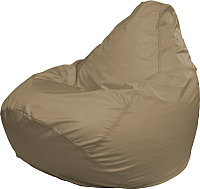 Бескаркасное кресло Flagman Груша Медиум Г1.2-01 (темно-бежевый) -