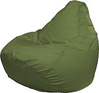 Бескаркасное кресло Flagman Груша Медиум Г1.2-03 (оливковый) -