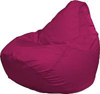Бескаркасное кресло Flagman Груша Медиум Г1.2-06 (малиновый) -