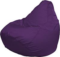 Бескаркасное кресло Flagman Груша Медиум Г1.2-12 (фиолетовый) -