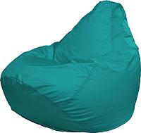 Бескаркасное кресло Flagman Груша Медиум Г1.2-13 (морская волна) -