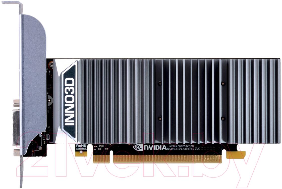 Купить Видеокарта Inno3D, GeForce GT 1030 0dB 2GB GDDR5 (N1030-1SDV-E5BL), Китай