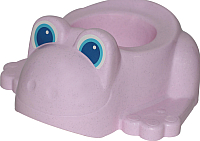 Детский горшок Полесье Лягушонок 3668 (розовый) -