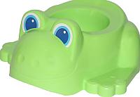 Детский горшок Полесье Лягушонок 3668 (зеленый) -