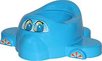 Детский горшок Полесье Самолет 3897 (голубой) -