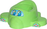 Детский горшок Полесье Самолет 3897 (зеленый) -