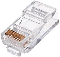 Коннектор Cablexpert PLUG3UP6/5 (100шт) -