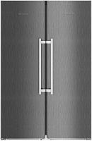Холодильник с морозильником Liebherr SBSbs 8673 -