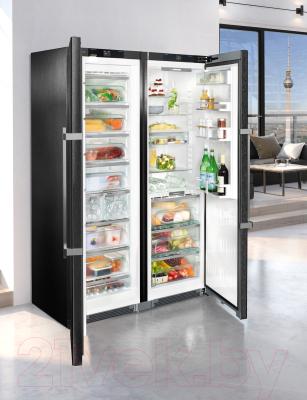 Холодильник с морозильником Liebherr SBSbs 8673