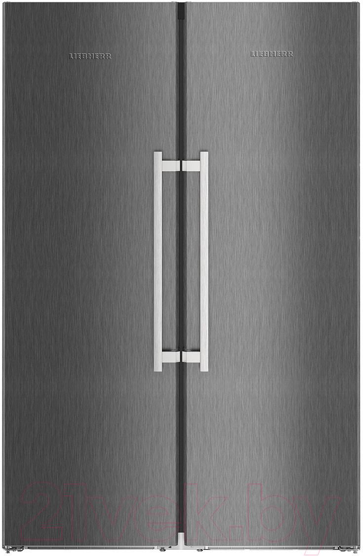 Купить Холодильник с морозильником Liebherr, SBSbs 8673, Германия