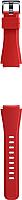 Ремешок для умных часов Samsung Gear S3 / ET-YSU76MREGRU (оранжево-красный) -