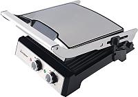 Электрогриль Endever Grillmaster 230 (серебристый/черный) -
