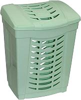 Корзина для белья Полесье №1 / 52148 (зеленый) -