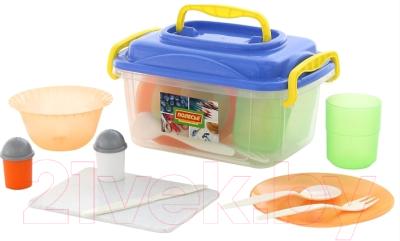 Набор пластиковой посуды Полесье №5 / 59147 (27пр) -