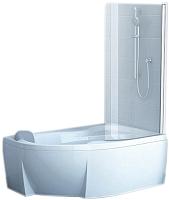Стеклянная шторка для ванны Ravak Rosa CVSK1 140/150 R (7QRM0C00Y1) -