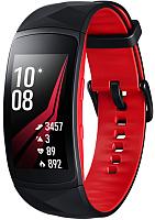 Умные часы Samsung Gear Fit2 Pro / SM-R365NZRASER (L, красный/черный) -