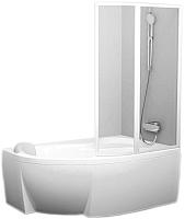 Пластиковая шторка для ванны Ravak Rosa VSK2 160 R (76P9010041) -