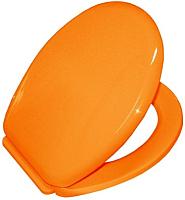 Сиденье для унитаза Bisk Lilia 02940 (оранжевый) -