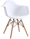 Кресло Mio Tesoro Дори SC-002 (белый/дерево) -