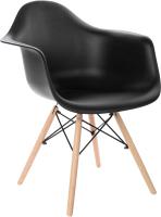 Кресло Mio Tesoro Дори SC-002 (черный/дерево) -