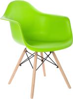 Кресло Mio Tesoro Дори SC-002 (зеленый/дерево) -