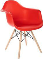 Кресло Mio Tesoro Дори SC-002 (красный/дерево) -