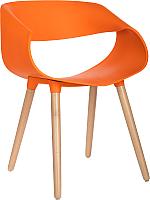 Стул Mio Tesoro Бруно SC-050 (оранжевый/дерево) -