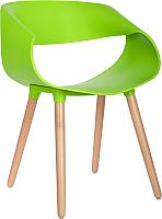Стул Mio Tesoro Бруно SC-050 (зеленый/дерево) -