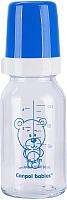 Бутылочка для кормления Canpol Мишка / 42/102 (120мл, синий) -