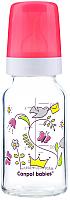 Бутылочка для кормления Canpol С рисунком / 42/202 (120мл, красный) -