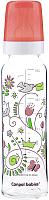 Бутылочка для кормления Canpol С рисунком / 42/201 (240мл, красный) -