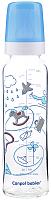 Бутылочка для кормления Canpol С рисунком / 42/201 (240мл, синий) -