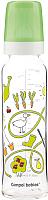 Бутылочка для кормления Canpol С рисунком / 42/201 (240мл, зеленый) -
