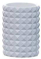 Стакан для зубных щеток Axentia Vegas 126774 (белый) -