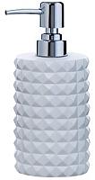 Дозатор жидкого мыла Axentia Vegas 126773 (белый) -