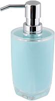 Дозатор жидкого мыла Axentia Грац 128353 (голубой) -