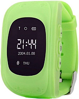 Умные часы детские Wonlex Q50 (зеленый) -