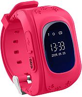 Умные часы детские Wonlex Q50 (розовый) -