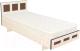 Односпальная кровать Барро М1 КР-017.11.02-02 80x186 (дуб девон) -