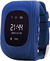 Умные часы детские Wonlex Q50 (темно-синие) -