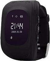 Умные часы детские Wonlex Q50 (черный) -