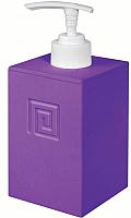 Дозатор жидкого мыла Bisk Meander 02717 (фиолетовый) -