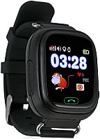 Умные часы детские Wonlex GW100 (черный) -