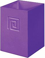 Стакан для зубных щеток Bisk Meander 02725 (фиолетовый) -