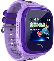 Умные часы детские Wonlex GW400S (фиолетовый) -