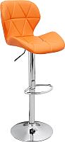 Стул барный Mio Tesoro Грация BS-035 (оранжевый/хром) -