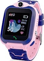 Умные часы детские Wonlex GW600S (розовый) -