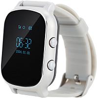 Умные часы детские Wonlex GW700 (серебристый) -
