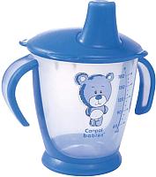 Поильник Canpol Мишка 9+ / 31/500 (180мл, синий) -
