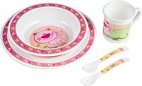 Набор детской посуды Canpol 12+ 4/401 (котик) -